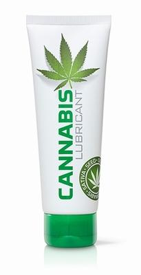 Cannabis glijmiddel op waterbasis, 125 ml
