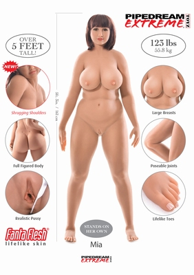 Ultimate Fantasy Doll Mia sexpop / sexdoll - TOPPER