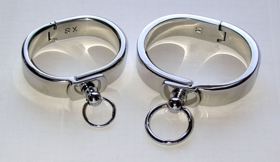 Polsband RVS, sluiting met Ring