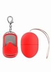 10 speed draadloos vibratie eitje, small, rood