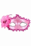 Venetiaans gezichtsmasker Tosca, roze