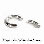 Ballstretcher, rond en magnetisch, 51 mm diameter