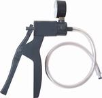 Handpomp Penispomp met eenhandsbediening met drukmeter