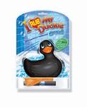 I Rub my Duckie badeend vibrator - zwart