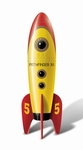 Retro Pocket Rocket, geel/rood
